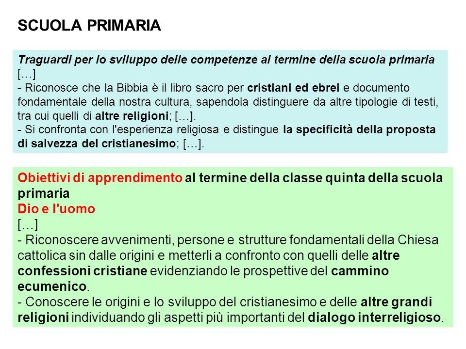 SCUOLA PRIMARIA Traguardi per lo sviluppo delle competenze al termine della scuola primaria. […]